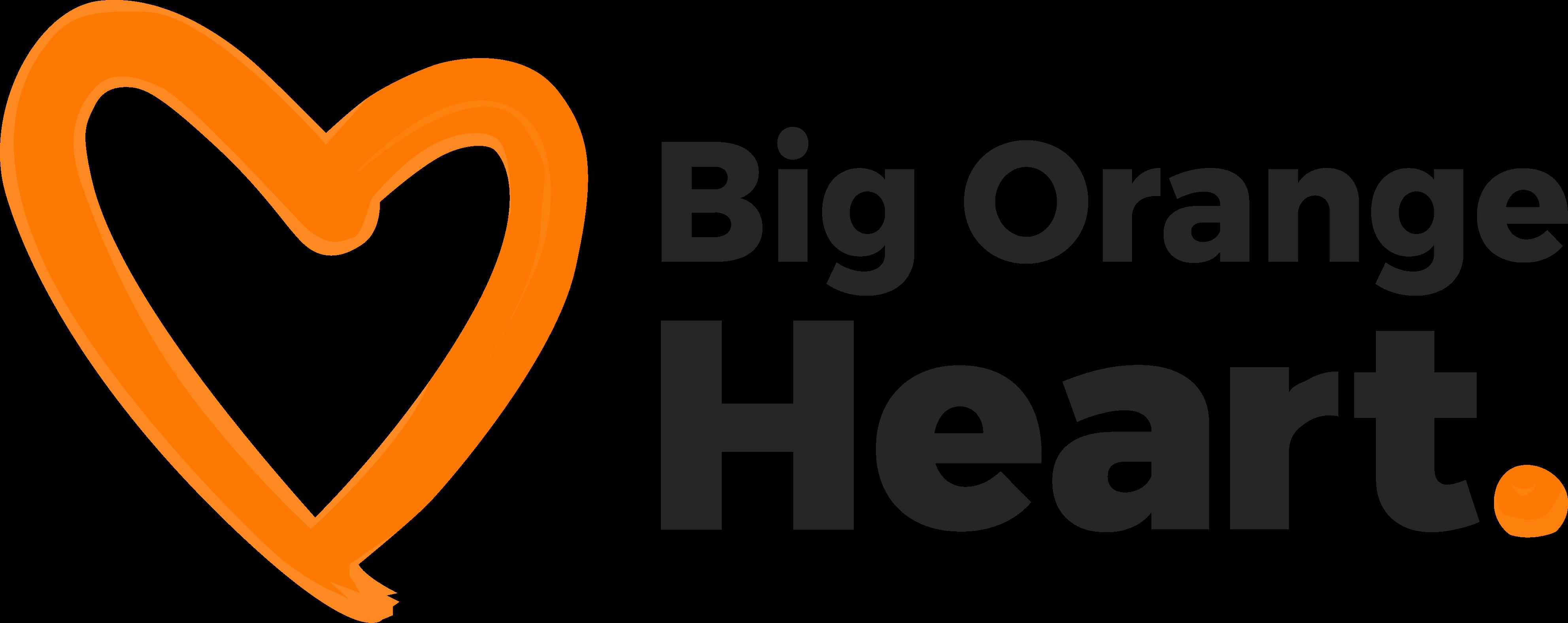 Big Orange Heart