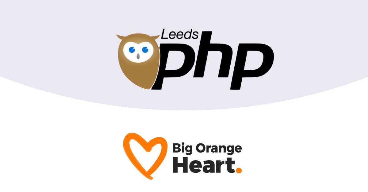 Leeds PHP joins Big Orange Heart