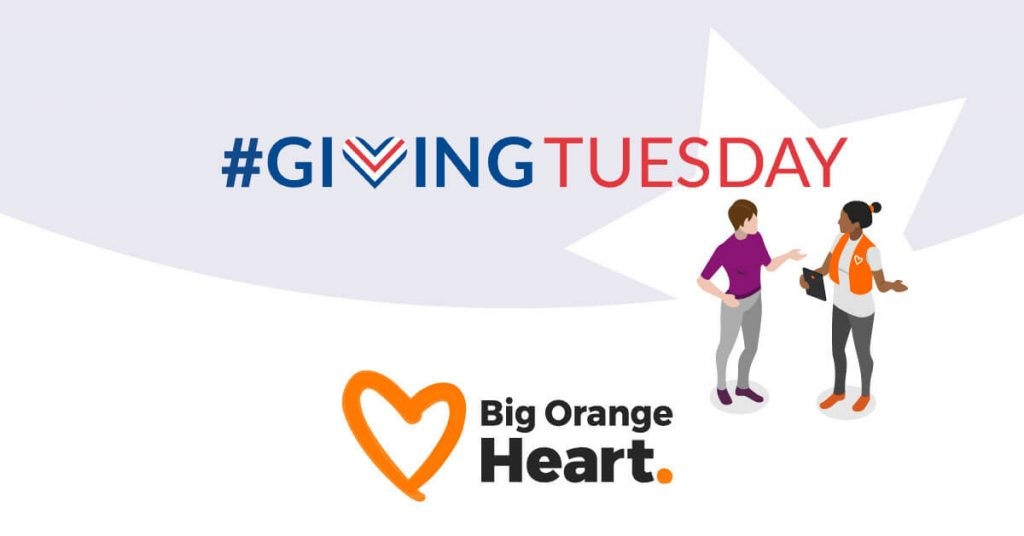 Support Big Orange Heart this Giving Tuesday