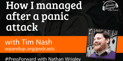 How I managed after a panic attack - #032