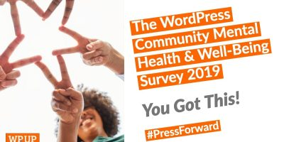 The WordPress Community Mental Health & Well-being Survey 2019