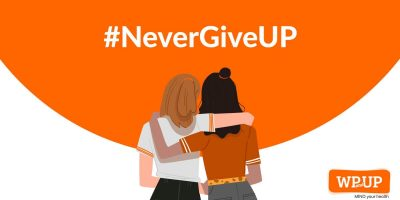 #NeverGiveUP Campaign 2019 by WP and UP